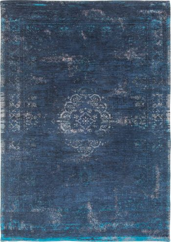 alfombras Louis De Poortere AV 8254 Fading World Medaillon Blue Night