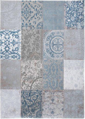 alfombras Louis De Poortere AV 8981 Vintage Bruges Blue