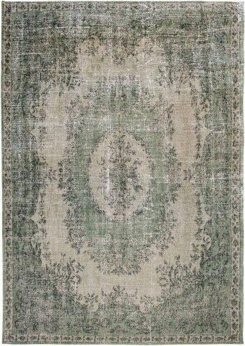 Louis De Poortere alfombra LX 9142 Palazzo Da Mosta Este Green