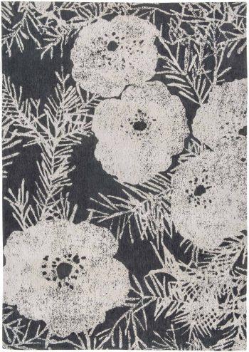 Louis De Poortere alfombras Romo LX 8741 Lomasi Charcoal