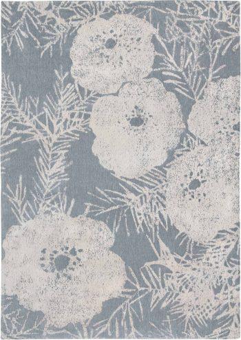Louis De Poortere alfombras Romo LX 8742 Lomasi Steelblue
